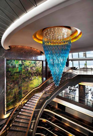 The St. Regis Shenzhen Luxury Hotel - Shenzhen, China - Grand Staircase