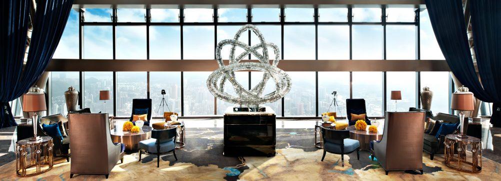 The St. Regis Shenzhen Luxury Hotel - Shenzhen, China - Sky Lobby