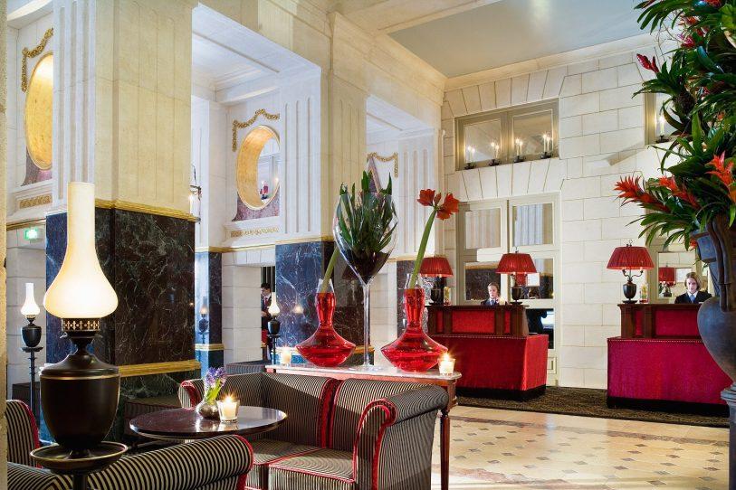 InterContinental Bordeaux Le Grand Hotel - Bordeaux, France - Lobby