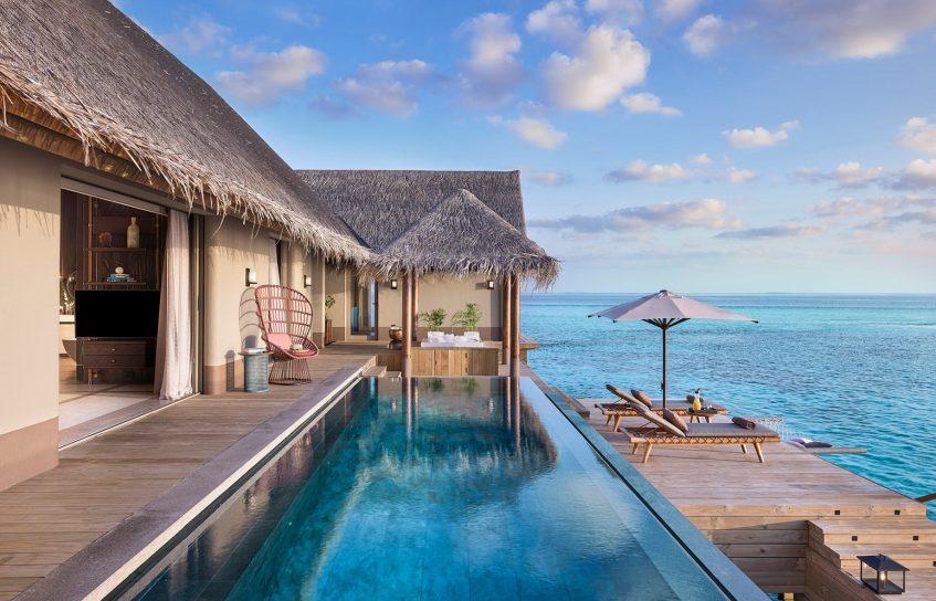 Joali Maldives Luxury Resort - Muravandhoo Island, Maldives - Water Villa Infinity Pool