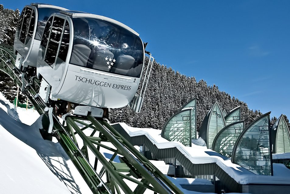 Tschuggen Grand Luxury Hotel - Arosa, Switzerland - Winter Tschuggen Express
