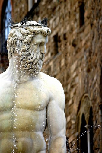 The St. Regis Florence Luxury Hotel - Florence, Italy - Nettuno Fountain