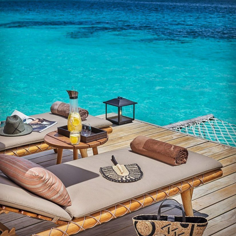 Joali Maldives Luxury Resort - Muravandhoo Island, Maldives - Water Villa Deck