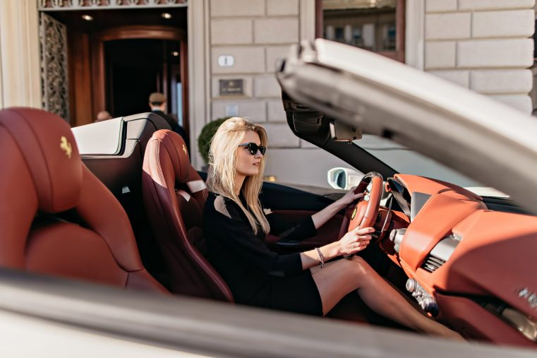 The St. Regis Florence Luxury Hotel - Florence, Italy - Ferrari Arrival