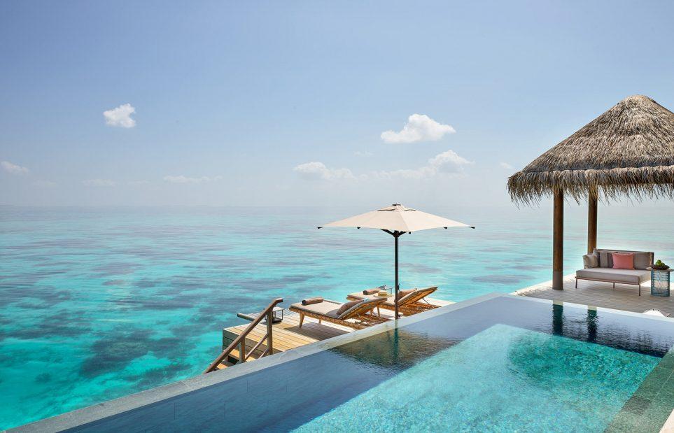 015 - Joali Maldives Luxury Resort - Muravandhoo Island, Maldives - Water Villa Infinity Pool Deck