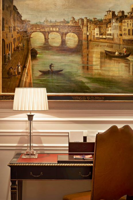 The St. Regis Florence Luxury Hotel - Florence, Italy - Deluxe Room Medici style detail