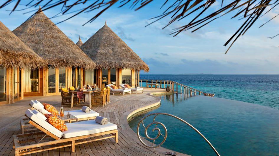 The Nautilus Maldives Luxury Resort - Thiladhoo Island, Maldives - The Nautilus Retreat Pool Deck