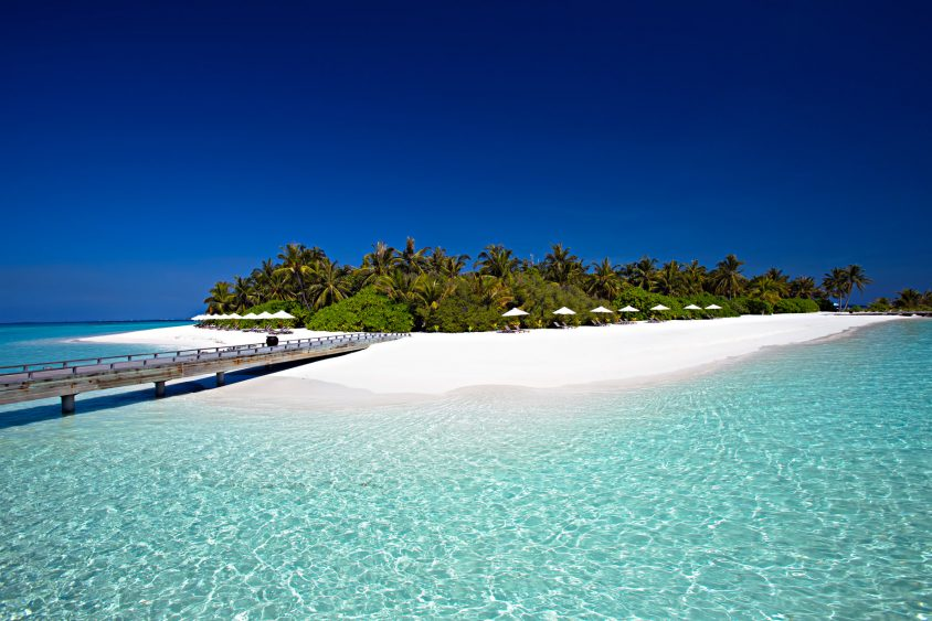 Velassaru Maldives Luxury Resort - South Male Atoll, Maldives - White Beach Beach