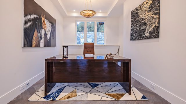 2111 Union Court, West Vancouver, BC, Canada - Office - Luxury Real Estate - West Coast Modern Home