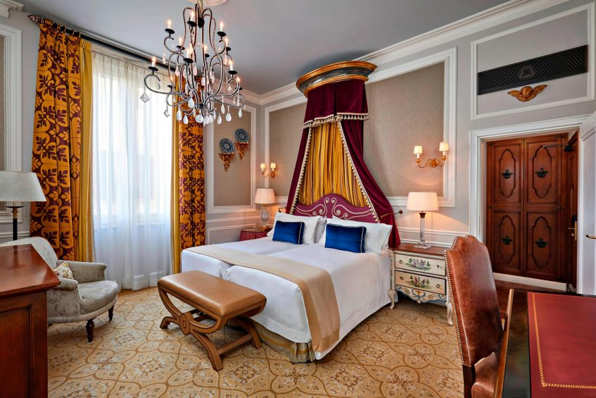 The St. Regis Florence Luxury Hotel - Florence, Italy - Deluxe Room Montebello Medici style