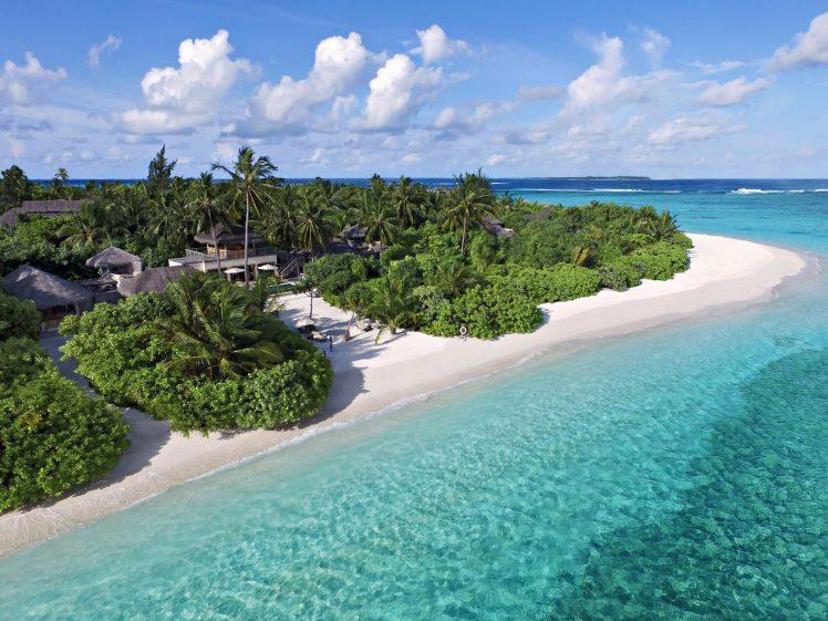 Six Senses Laamu Luxury Resort - Laamu Atoll, Maldives - Two Bedroom Ocean Beachfront Villa with Pool