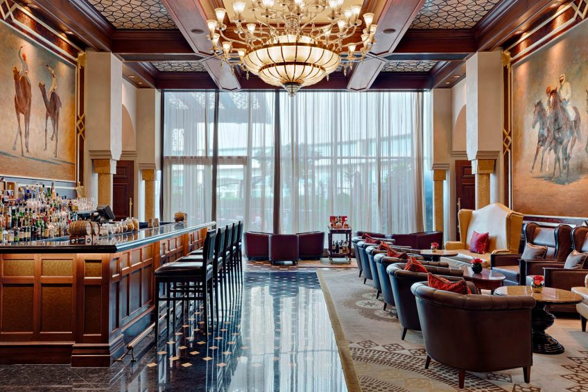 The St. Regis Abu Dhabi Luxury Hotel - Abu Dhabi, United Arab Emirates - St. Regis Bar