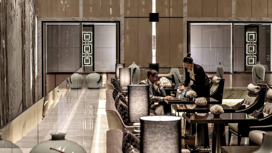 Regent Shanghai Pudong Luxury Hotel - Shanghai, China - Business Lounge