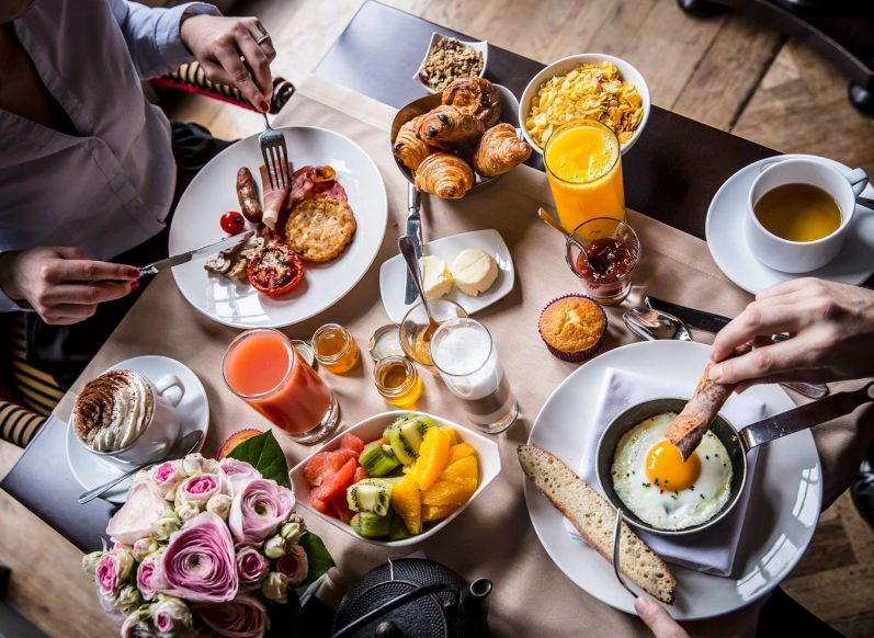 InterContinental Bordeaux Le Grand Hotel - Bordeaux, France - Decadent Breakfast