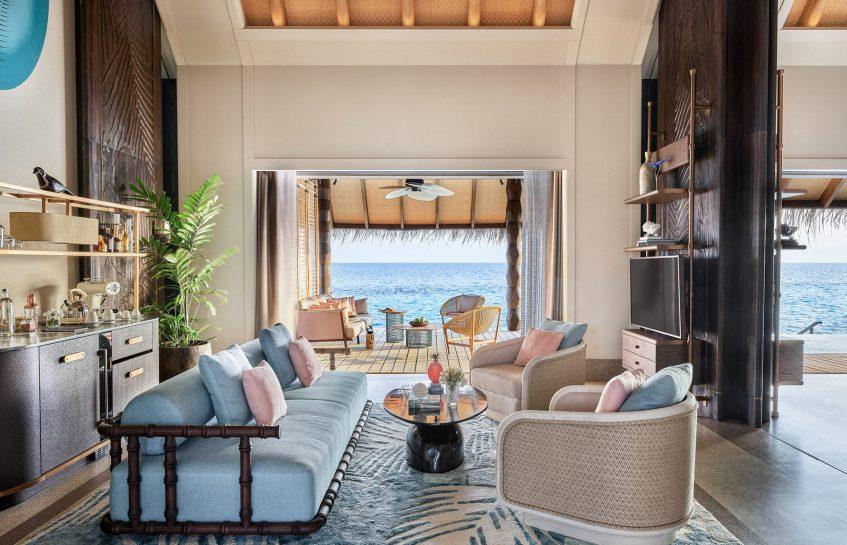 Joali Maldives Luxury Resort - Muravandhoo Island, Maldives - Water Villa Living Room