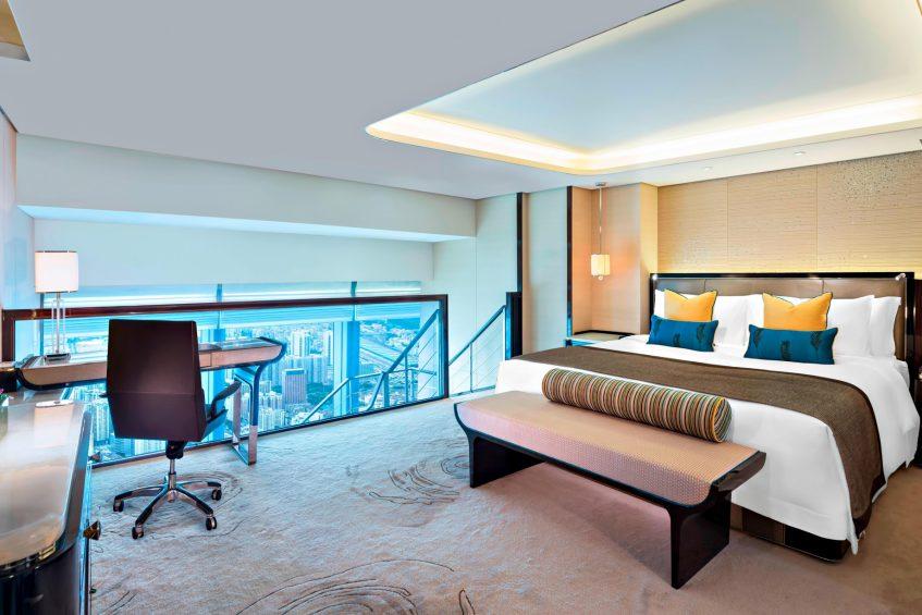 The St. Regis Shenzhen Luxury Hotel - Shenzhen, China - Allure Suite
