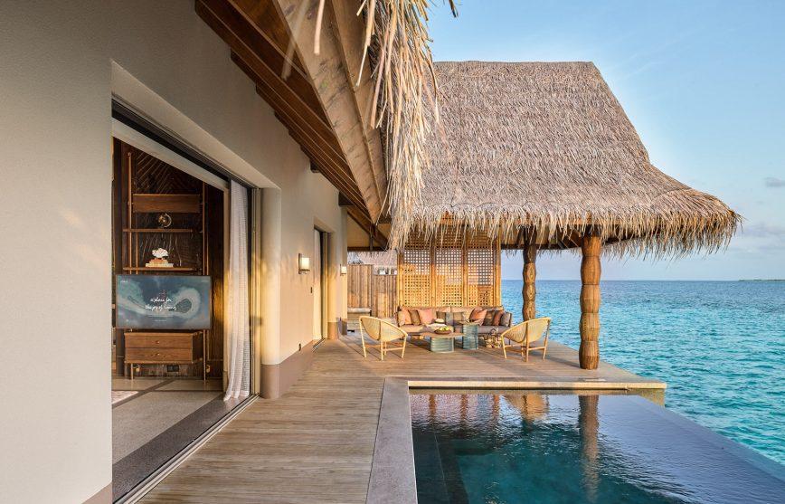 Joali Maldives Luxury Resort - Muravandhoo Island, Maldives - Water Villa Oceanfront Deck