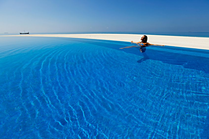 Velassaru Maldives Luxury Resort - South Male Atoll, Maldives - Relaxation in Pool