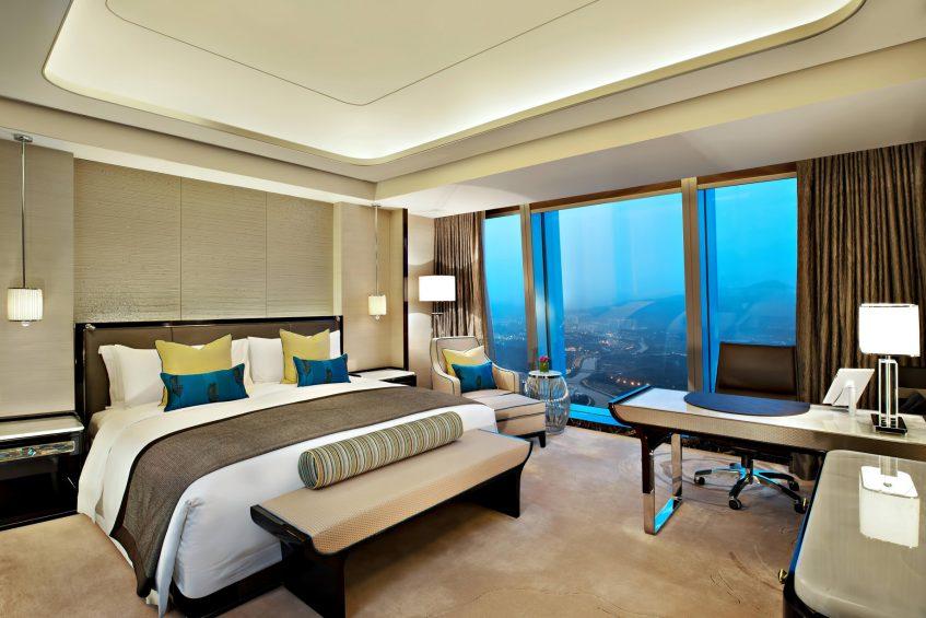 The St. Regis Shenzhen Luxury Hotel - Shenzhen, China - Deluxe Guest Room Scenic View