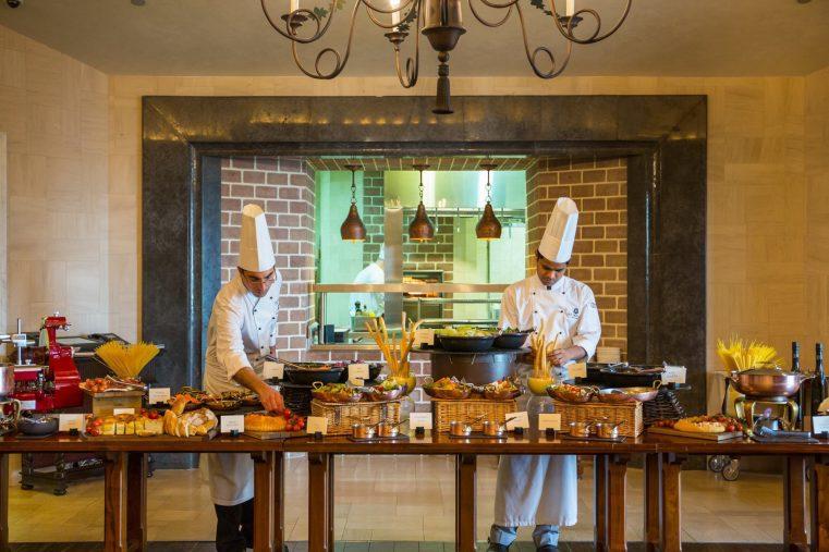 The St. Regis Abu Dhabi Luxury Hotel - Abu Dhabi, United Arab Emirates - Gourmet Dining Redefined