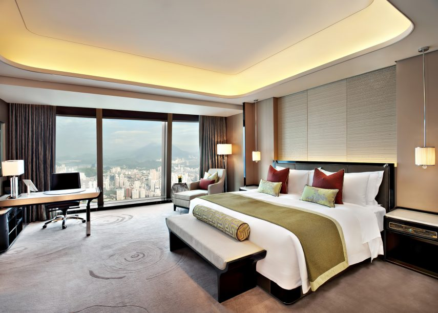 The St. Regis Shenzhen Luxury Hotel - Shenzhen, China - Executive Deluxe City View Room