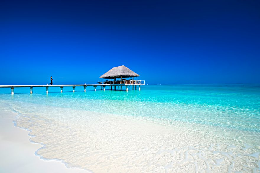 Velassaru Maldives Luxury Resort - South Male Atoll, Maldives - Over Water Restaurant