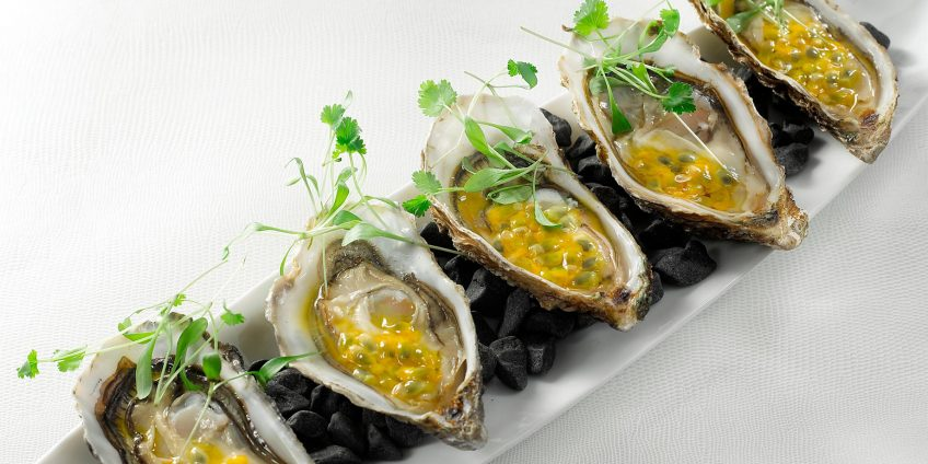 InterContinental Bordeaux Le Grand Hotel - Bordeaux, France - Oysters and Passion Fruits