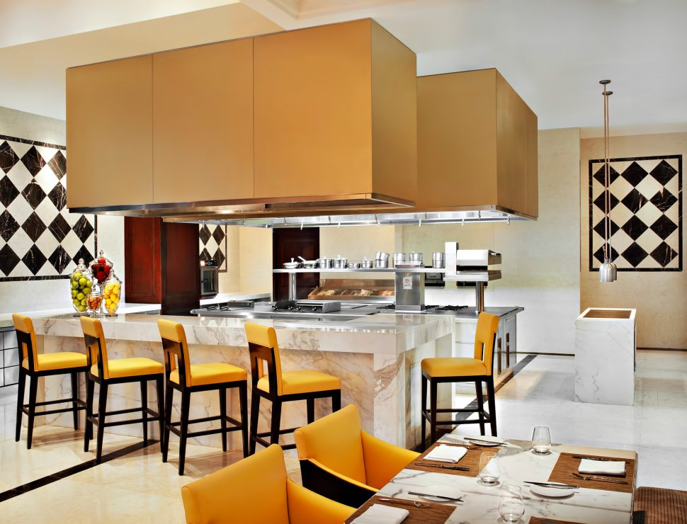 The St. Regis Tianjin Luxury Hotel - Tianjin, China - Promenade Restaurant Open Kitchen