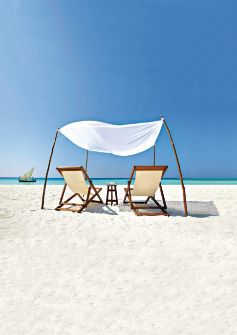 Velassaru Maldives Luxury Resort - South Male Atoll, Maldives - Beach Chairs
