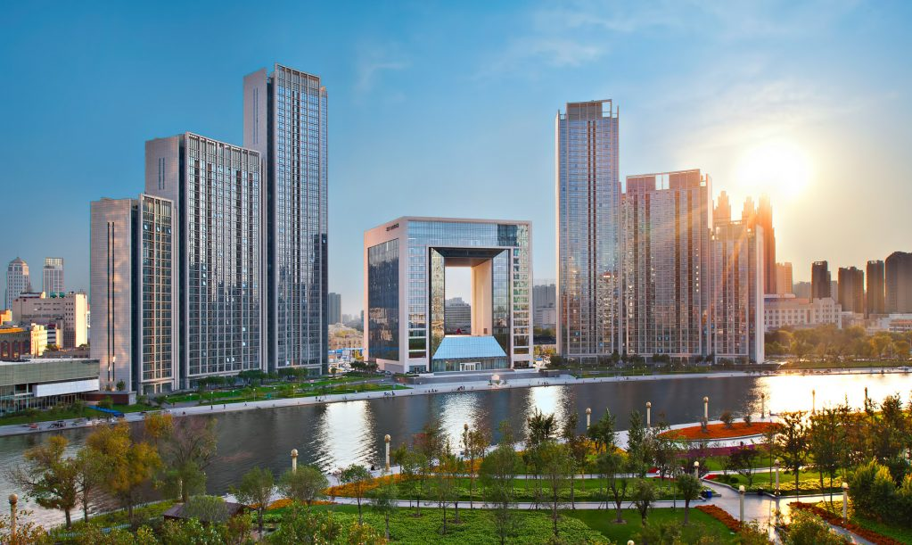 The St. Regis Tianjin Luxury Hotel - Tianjin, China - Sunset