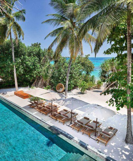 Joali Maldives Luxury Resort - Muravandhoo Island, Maldives - Beachfront Pool Oceanview