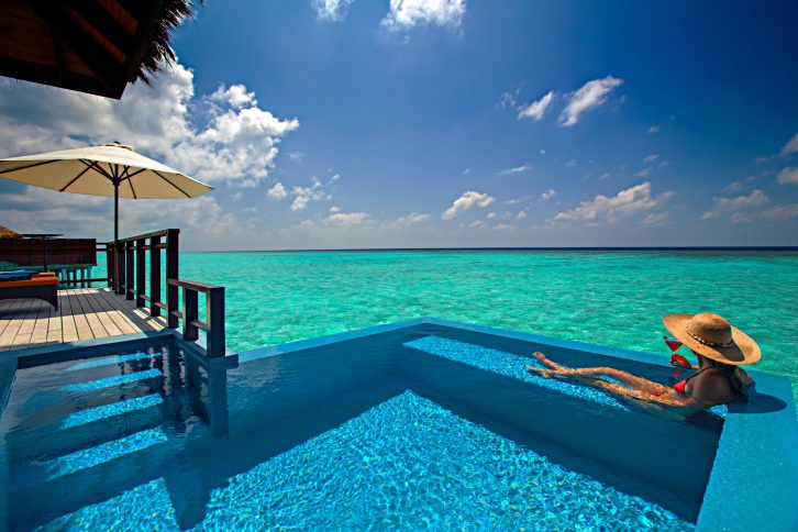 Velassaru Maldives Luxury Resort - South Male Atoll, Maldives - Over Water Suite Pool