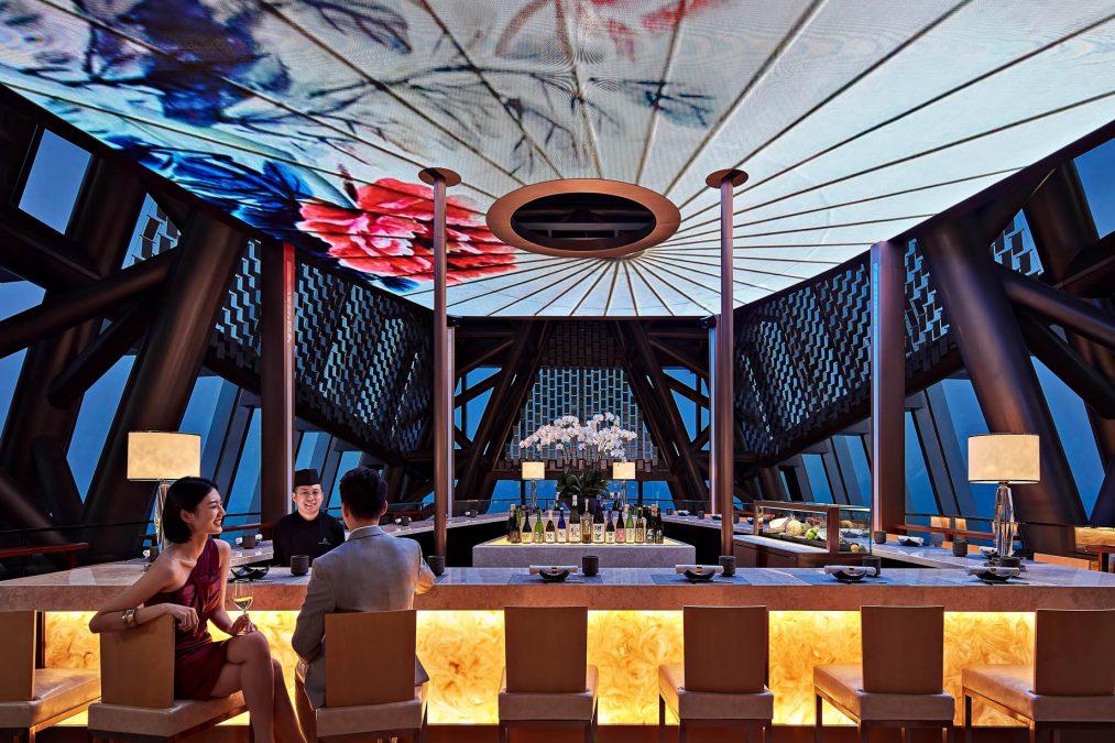 The St. Regis Shenzhen Luxury Hotel - Shenzhen, China - MALT Oyster And Sushi Bar
