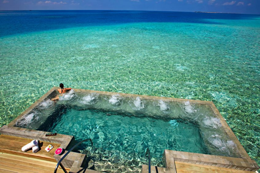 Velassaru Maldives Luxury Resort - South Male Atoll, Maldives - Over Water Spa Pool
