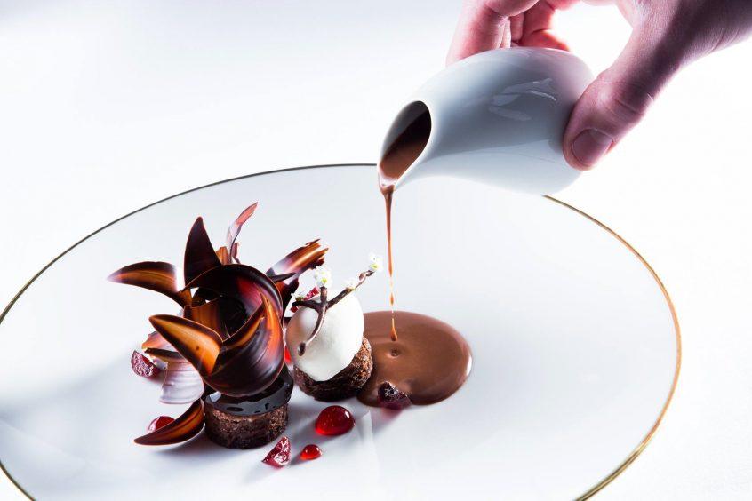 InterContinental Bordeaux Le Grand Hotel - Bordeaux, France - Delightful Dessert as Art