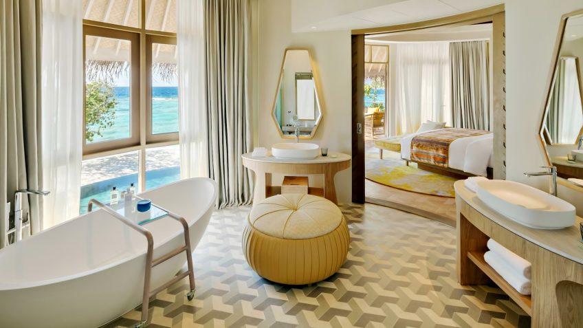 The Nautilus Maldives Luxury Resort - Thiladhoo Island, Maldives - Oceanview Residence Master Bathroom