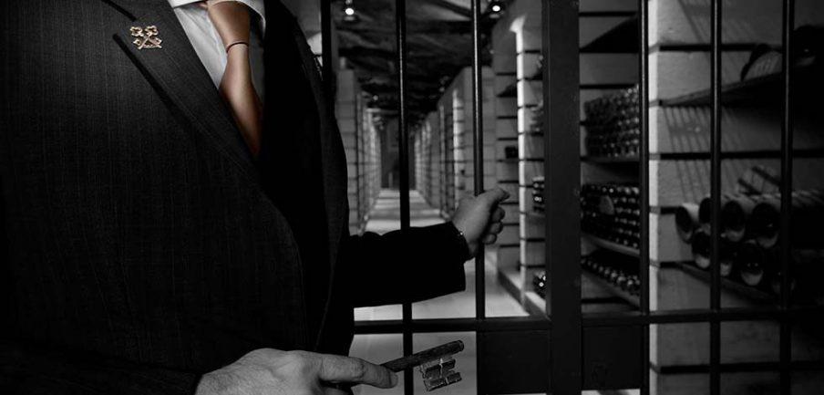 InterContinental Bordeaux Le Grand Hotel - Bordeaux, France - Wine Cellar