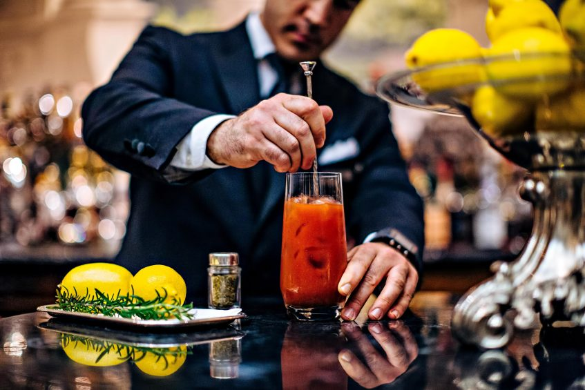 The St. Regis Florence Luxury Hotel - Florence, Italy - Brunello Bloody Mary
