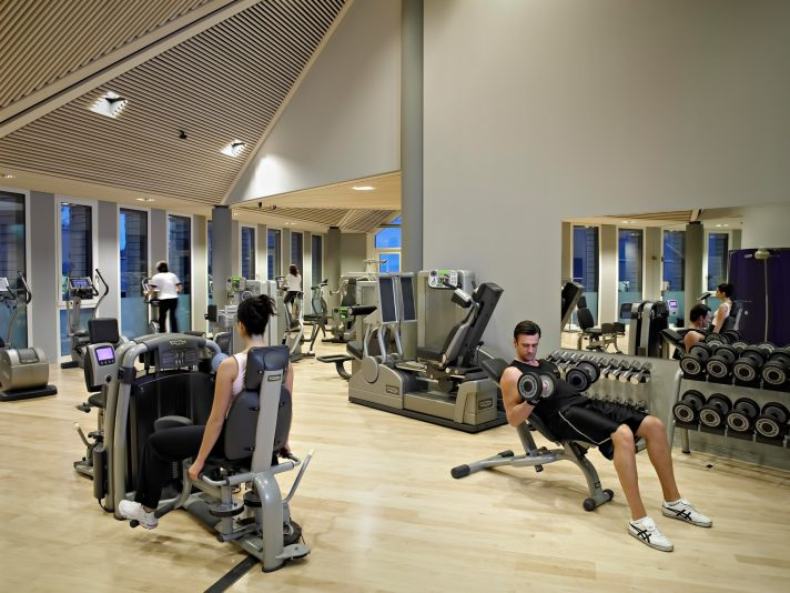 Tschuggen Grand Luxury Hotel - Arosa, Switzerland - Gym