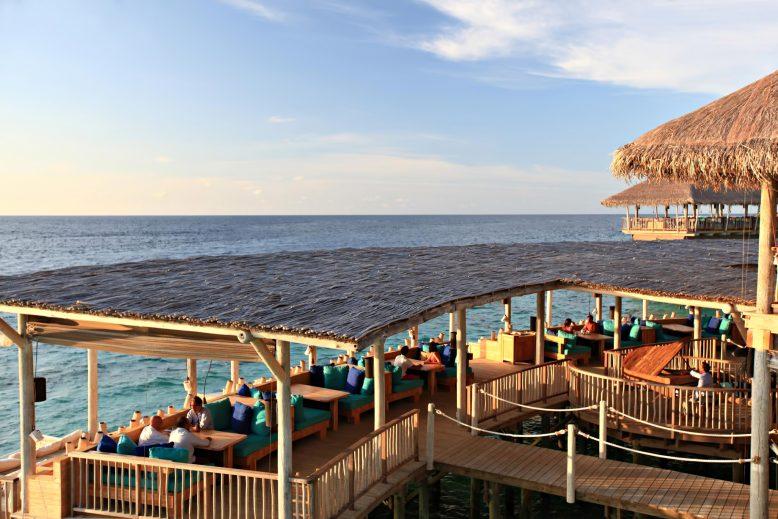 Six Senses Laamu Luxury Resort - Laamu Atoll, Maldives - Overwater Chill Bar