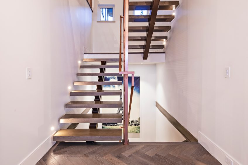 2111 Union Court, West Vancouver, BC, Canada - Stairway - Luxury Real Estate - West Coast Modern Home