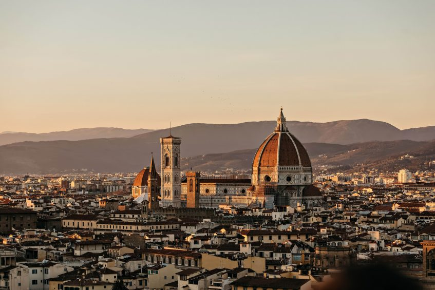 The St. Regis Florence Luxury Hotel - Florence, Italy - Basilica of Santa Maria del Fiore at Dusk