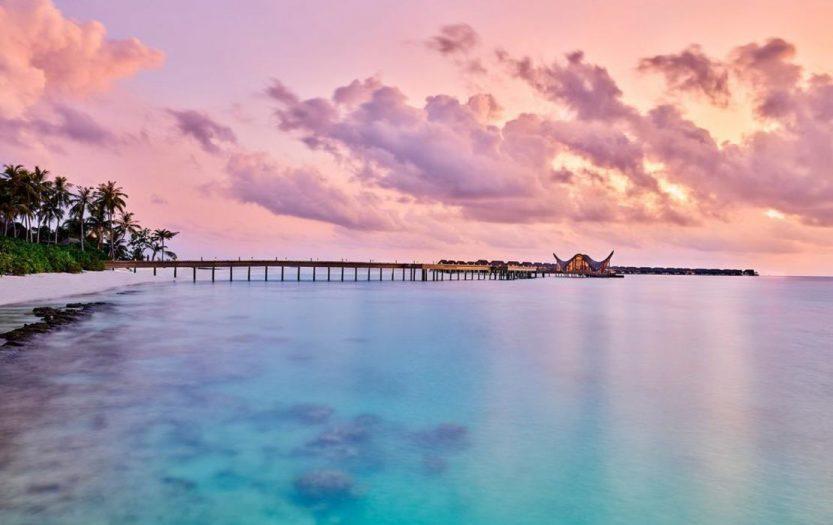 Joali Maldives Luxury Resort - Muravandhoo Island, Maldives - Resort Sunset