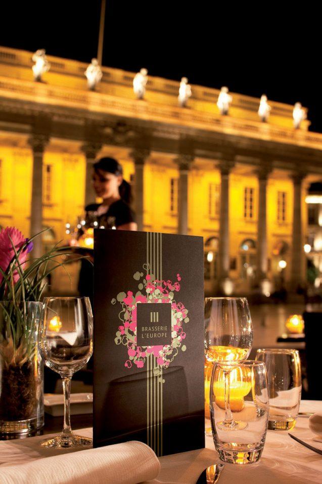 InterContinental Bordeaux Le Grand Hotel - Bordeaux, France - Night Cocktails