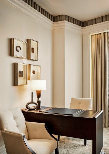 The St. Regis Abu Dhabi Luxury Hotel - Abu Dhabi, United Arab Emirates - Guest Room Work Desk
