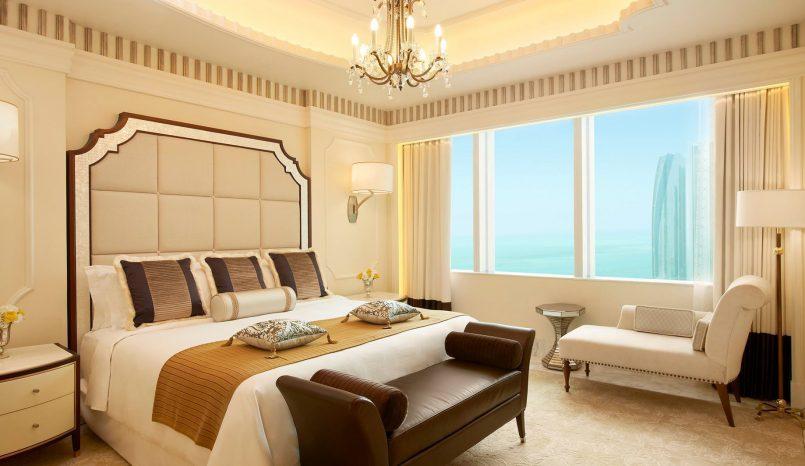 The St. Regis Abu Dhabi Luxury Hotel - Abu Dhabi, United Arab Emirates - Luxury Suite Bedroom