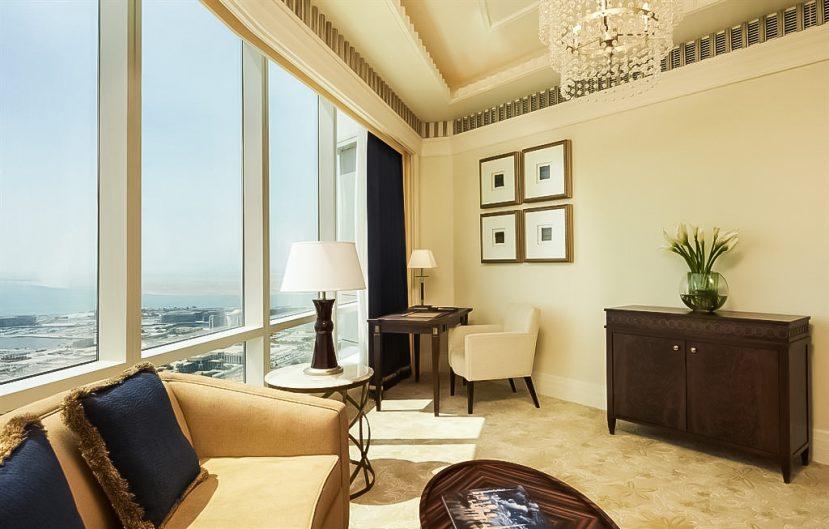 The St. Regis Abu Dhabi Luxury Hotel - Abu Dhabi, United Arab Emirates - Junior Suite Living Room