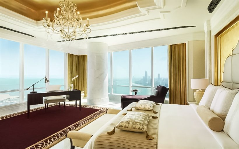 The St. Regis Abu Dhabi Luxury Hotel - Abu Dhabi, United Arab Emirates - Al Hosen Suite Bedroom