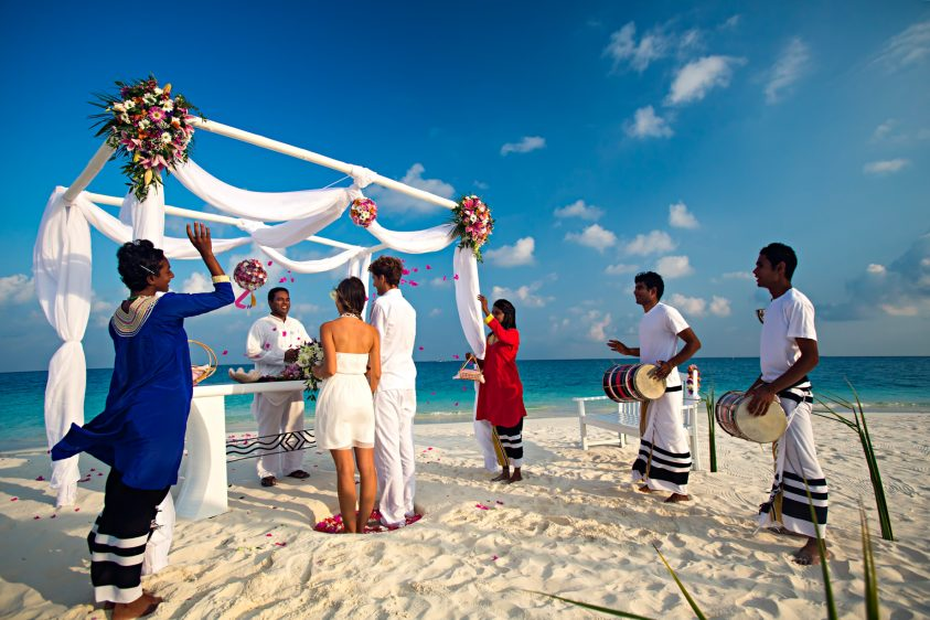 Velassaru Maldives Luxury Resort - South Male Atoll, Maldives - Beach Wedding