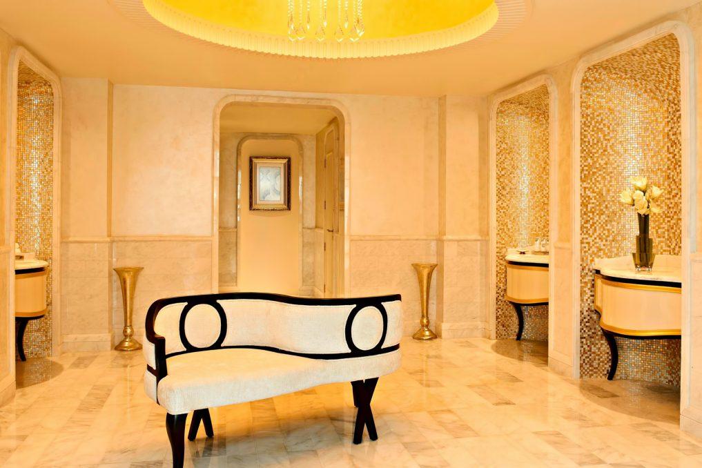 The St. Regis Abu Dhabi Luxury Hotel - Abu Dhabi, United Arab Emirates - Remede Spa Ladies Dressing Room